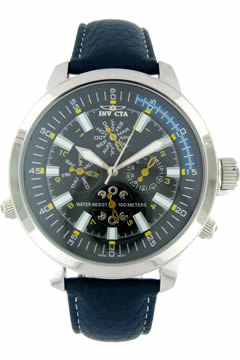 Invicta MultiFunction Leather Model 3031